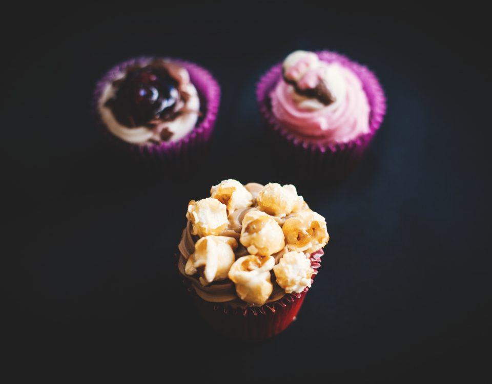 muffin bogyók
